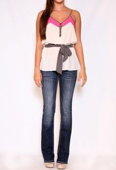 Top with Tie at Waist More Colors Available #PrivateGallery #PGWishList