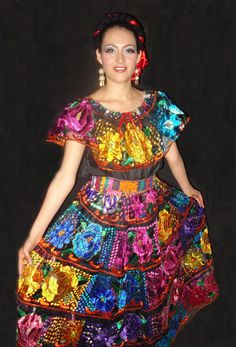 vestidos mexicanos tipicos - Google Search | folklorico ...
