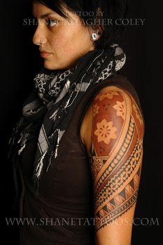 SHANE TATTOOS: Fijian Tattoo on Sarox