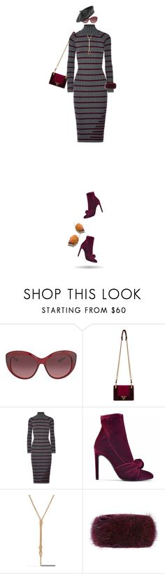 """Burgundy & Gray!"" by prettynposh2 ❤ liked on Polyvore featuring Coach, Prada, T By Alexander Wang, Giuseppe Zanotti, Mulberry, Accessorize and burgundy"