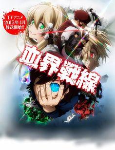 "Nuevo vídeo promocional del Anime Kekkai Sensen versión ""Hello,world!""."