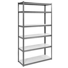 Add to your garage or workspace storage with this Muscle Rack Heavy Duty Steel Garage Storage Shelving Unit . This heavy-duty shelving unit is.