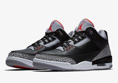 The Air Jordan 3 Black Cement 2018 Retro (Style Code  release date is set  for February 2018 during NBA All-Star Weekend with Nike Air. 4438cbb67
