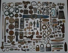 Odds and ends - metal Detecting 2012 - Sent in by Robert T - Cape Town South Africa.