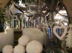 Schnee im Glas