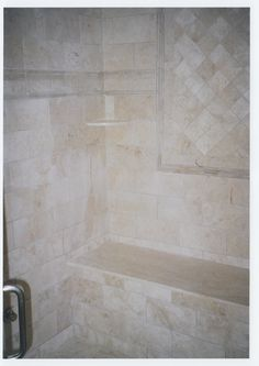 Tile shower seat. http://www.jpmoorehomeimprovements.com/our-services/bathroom-remodeling/