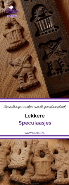 Speculaas Cookies, also known as Speculoos or Dutch Windmill Cookies are a traditional Dutch cookie. Make the cookies with a speculaas mold or cookie cutter. Dutch Recipes, Baking Recipes, Cookie Recipes, Dessert Recipes, Dutch Desserts, Amish Recipes, Bar Recipes, Speculaas Cookie Recipe, Speculoos Cookies