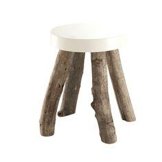 Driftwood Stool  design by bleu nature    Tabouret Ugliq