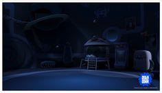Carlos Tschuschke. Interior l , for Jelly Jamm, spanish tv show. Almost all texturing : Elaine Lugo. Design : Salba Conbé.