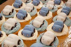 Volkswagen Beetle Cupcakes