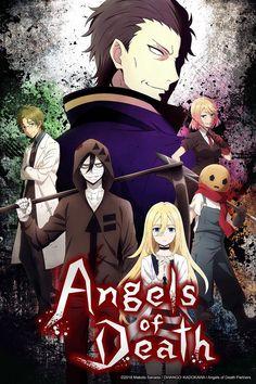 ''Angel of Death'' culminará su trama con los episodios 13 - 16 en Crunchyroll