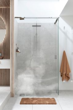 Luxurious EPIC 13 shower enclosure with 10 mm glass.no and inr. Shower Enclosure, Sweet Home, Bathtub, Interior Design, Luxury, Glass, Wall, House, Bathrooms