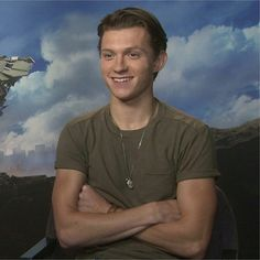 """[NEW] Tom at the """"Spider-Man: Homecoming"""" press junket for AlloCiné today in Paris! — WATCH THE FULL INTERVIEW ON ALLOCINÉ'S FACEBOOK! Link: https://m.facebook.com/story.php?story_fbid=10155391763500148&id=107276450147 @tomholland2013 