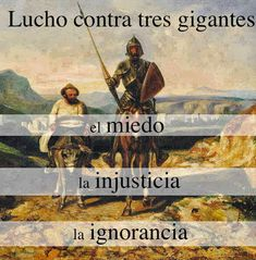 Don Quijote quote Spanish Posters, Spanish Quotes, Dom Quixote, Motivational Quotes, Inspirational Quotes, Fun Quotes, Life Quotes, Coffee And Books, Text Quotes