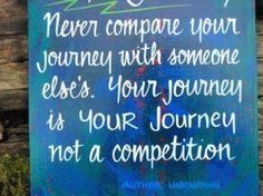 Enjoy YOUR Journey!!