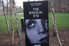 """The radical eye"" #Exhibtion at #TateModern #Cartel #Affiche #Arterecord 2017 https://twitter.com/arterecord"