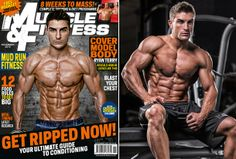Rising Star: Fitness Model Ryan Terry Talks With Simplyshredded.com
