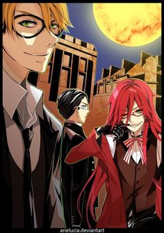 Black Butler ~~~ Ronald Knox, William T. Spears and Grell Sutcliff