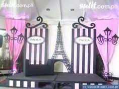 Resultado de imagen para paris painted backdrops