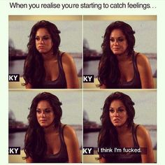 "42 Likes, 9 Comments - Becky Smith (@becks_317) on Instagram: ""Haha 🙈🔫 #catchingfeelings #lifeproblems #standard #fucked #girlproblems #vickygeordieshore…"""