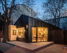 Café y bar de jugos Frudisiac, Bucarest, Rumania - Not a Number Architects - foto: Cosmin Dragomir