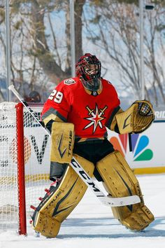 """Vegas Golden Knights on Twitter: """"Marc-Andre Fleury has also been named to the NHL's Second All-Star Team for the first time in his career! 👏👏… """" Hockey Pads, Goalie Pads, Hockey Goalie, Ice Hockey, Vegas Golden Knights Logo, Golden Knights Hockey, Nhl Highlights, Mlb Detroit Tigers, Marc Andre"""