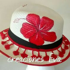 Painted Hats, Diy Hat, Fancy Hats, Bb, Patterns, How To Make, Crafts, Women, Fashion