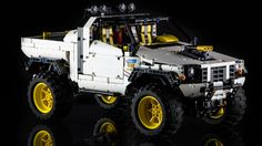 LEGO Technic 4x4 Pick-Up by Lucio Switch