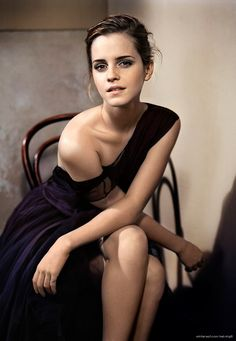Emma Watson by Vincent Peters She's inspiration for many reasons. #1- despite being successful in her career field and financially set for life, she still chose to attend college and receive a higher education. Many others, but that's my #1.