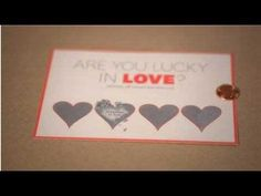 Scratch Off Card Valentine's Day Craft - YouTube using metallic acrylic paint and dishwashing liquid. Free customizable printable and heart template