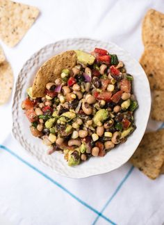 Healthy Cowboy Caviar - Cookie and Kate