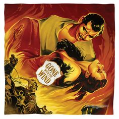 Gone With The Wind/Fire Poster Bandana