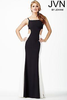 Open Back Dress JVN31458