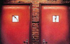 20 Creative and Funny Toilet Signs - bathroom sign, restroom sign - Oddee Toilet Signage, Bathroom Signage, Restaurant Bathroom, Restaurant Ideas, Bathroom Door Sign, Bathroom Humor, Humor Escatológico, Toilet Symbol, Toilet Icon