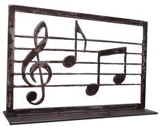 Music cut out using the BurnTables.com CNC Plasma Table