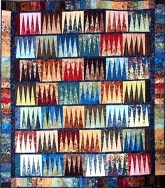 Reflections, Quiltworx.com, Made by Certified Instructor Sue Wilson.