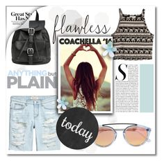 """Hot coachella style"" by maki007 ❤ liked on Polyvore featuring H&M, Westward Leaning, polyvorecontest and bestofcoachella"