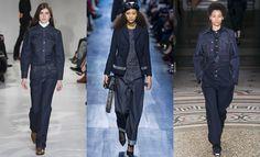 Fall 2017  trends: denim Calvin Klein, Christian Dior, Stella McCartney