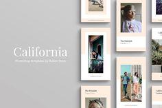 California Instagram Stories by Ruben Stom on @creativemarket