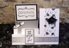 Stair Steps Graduation Card