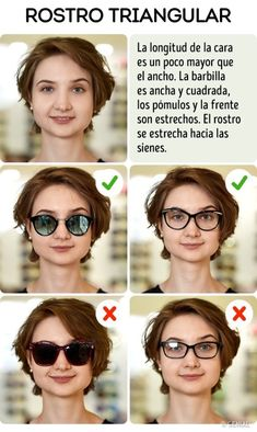 How to Pick the Perfect Sunglasses for Your Face Type - hair & beauti - Brille Pear Shaped Face, Oblong Face Shape, Oval Face Shapes, Face Shape Sunglasses, Glasses For Your Face Shape, Oval Faces, Square Faces, Face Shape Hairstyles, Fashion Eye Glasses