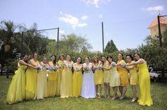 Casamento em Londrina. Yellow, blue and love birds…