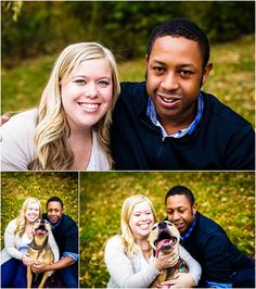 Bloomington Engagement | Aaron + Kelsey, dog, www.rachelrichard.com