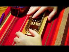 how to use a sock loom Loom Knitting Patterns, Arm Knitting, Knitting Socks, Sock Loom, Invisible Stitch, Leather Repair, Wrap, Thanksgiving Crafts, Chanel Boy Bag