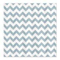 CafePress Light Blue White Zigzag Chevron Pattern Shower Cur Shower Curtain  Standard White >>> For more information, visit image link.