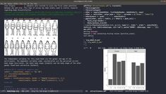 Using R with Emacs and ESS: Org Mode with embeded R code to write an academic paper in APA format.
