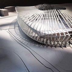 Interesting model #arquitectura #maquetas #estadios
