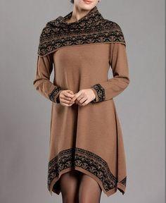 Nouveau coréens, hiver, féminine's chandails, longue robe pull en cachemireirrégulière en vrac grande taille femme cadeaux de noël
