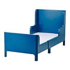 BUSUNGE, Extendable bed, medium blue