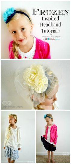 """Frozen"" Inspired Headbands - The Ribbon Retreat Blog"